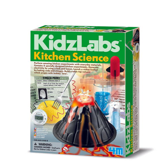Kitchen Science set from Kidz Labs