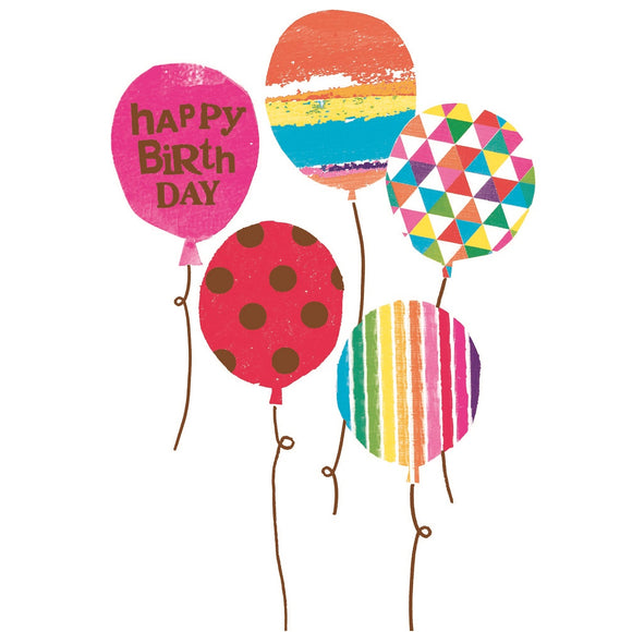 Birthday Balloons Birthday Card