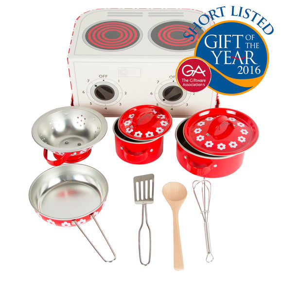 Red Daisies Cooking Box Set