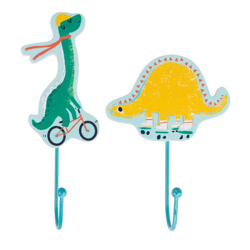 Dino Skate Park Hooks (pack of two)