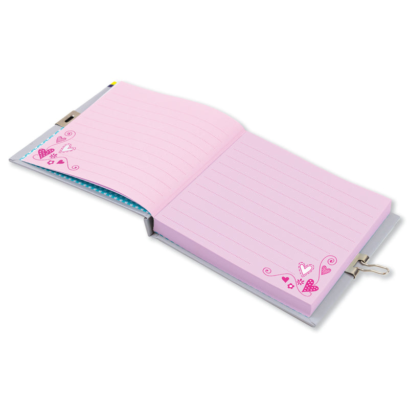 Girls Rule Lockable Secret Diary