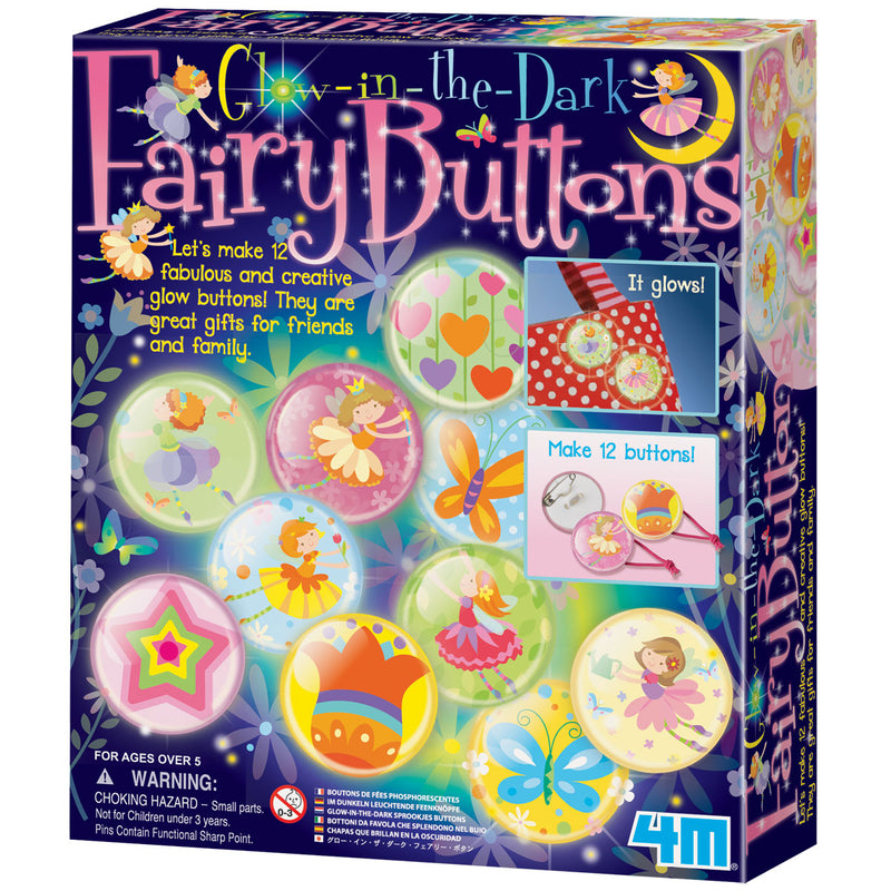 Glow in the Dark Fairy Buttons