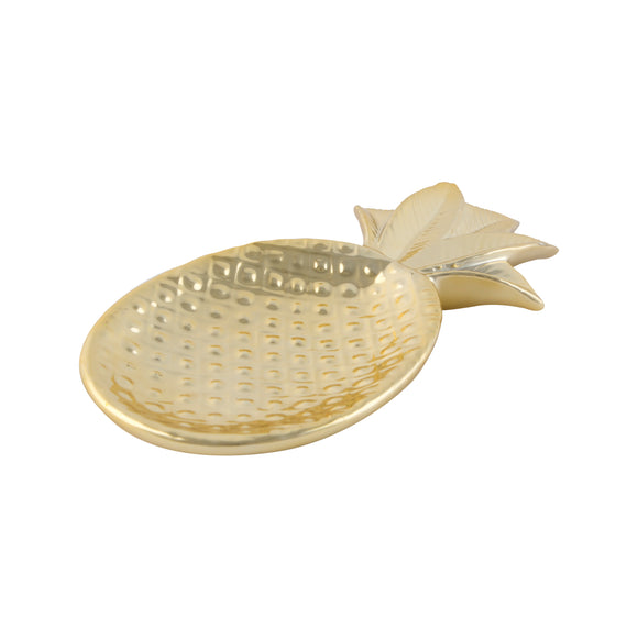 Gold Pineapple Shaped Trinket Dish