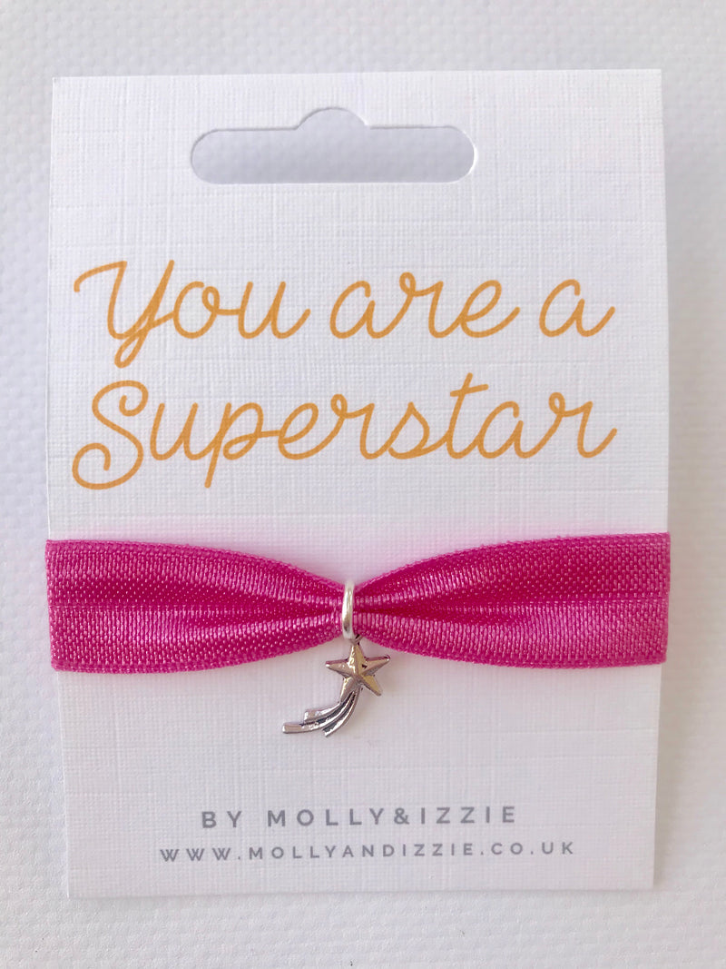 Superstar Stretch Charm Bracelet