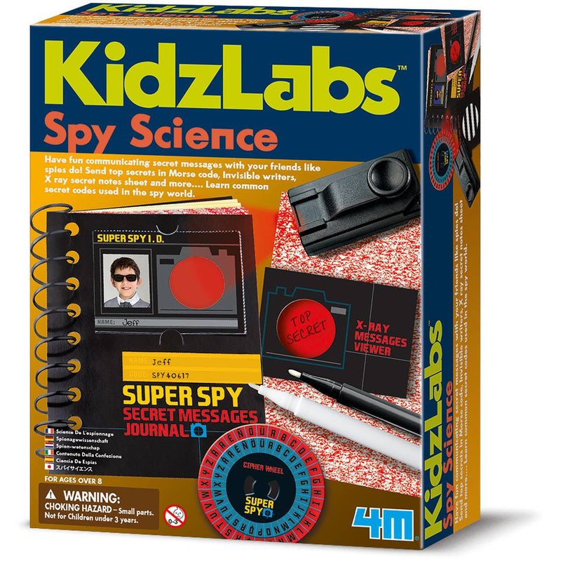 Spy Science Message Kit