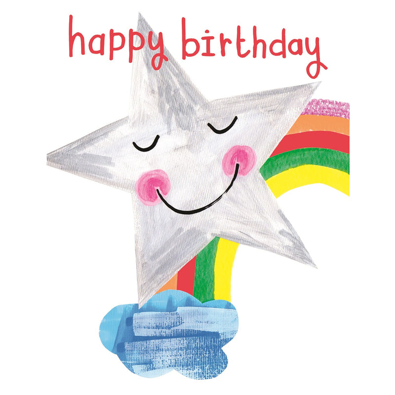 Happy Birthday Star Birthday Card
