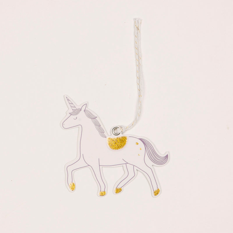 Princess Unicorn Gift Tags - Set of 6