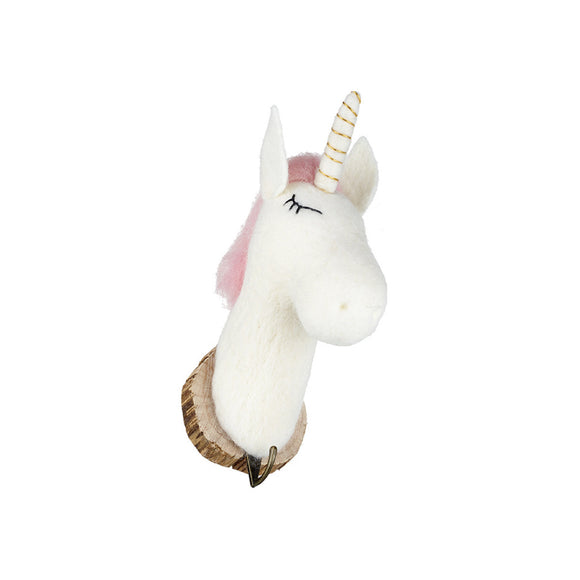 Wool Unicorn Hook Decoration