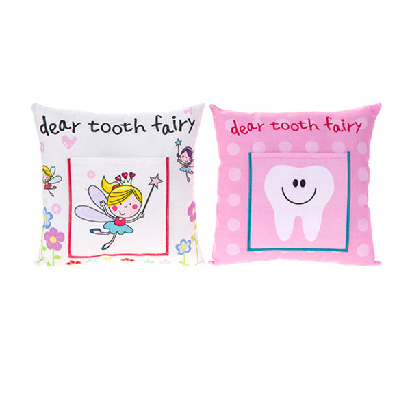 'Dear tooth fairy' Tooth Pillow