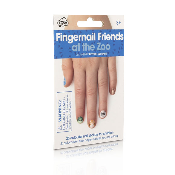 At the Zoo - Fingernail Friends