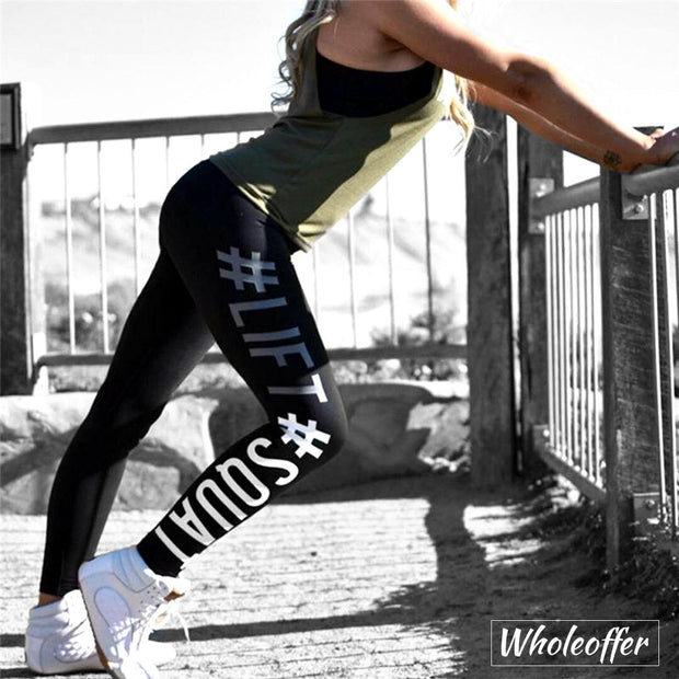 Sportswear Lift-Squat Print Leggings