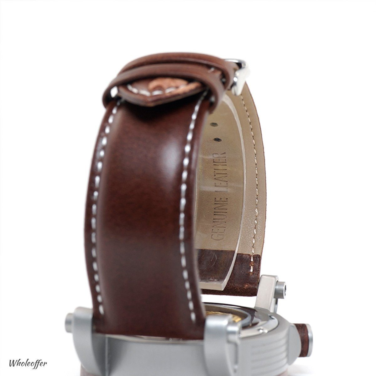 Mechanical Vintage Wood Watch
