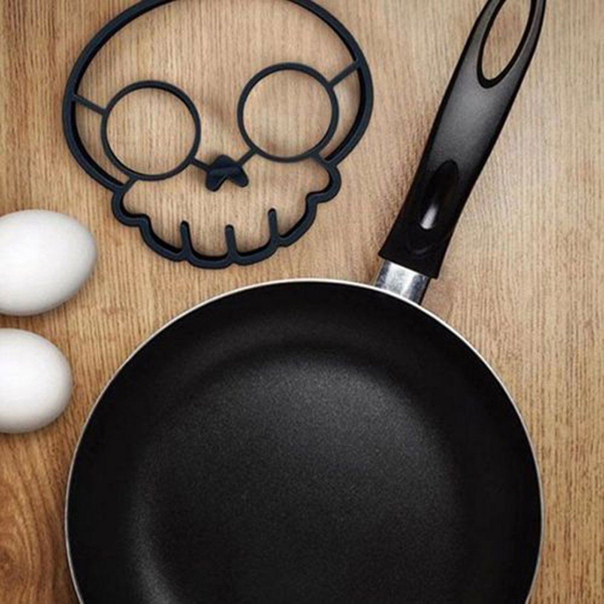 Silicon Skull Egg Mold