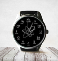 Chemistry Nerd Unisex Watch with Chemical Elements