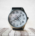 Chemistry Unisex Watch with Chemical Elements