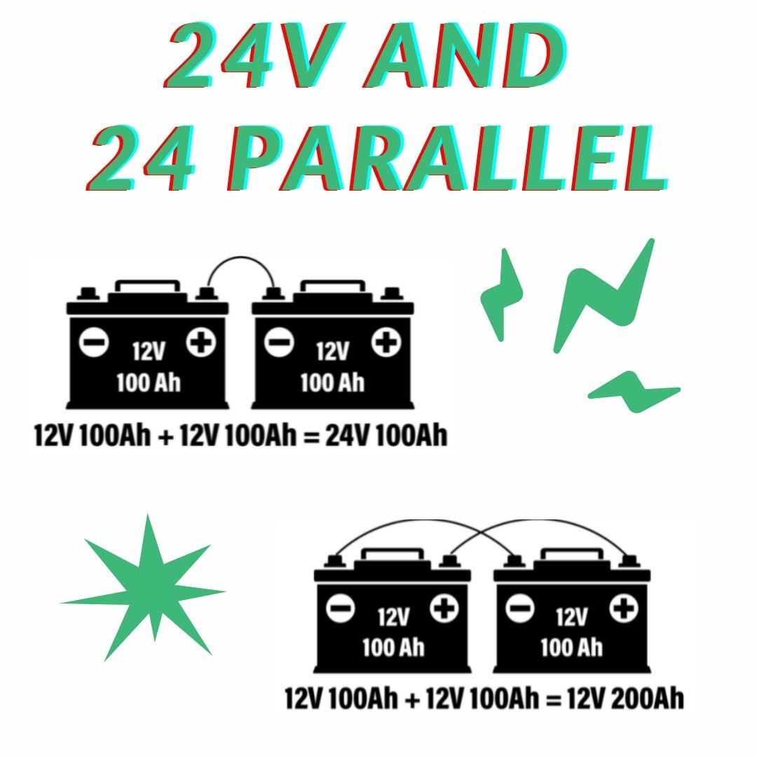 24v and 24 Parallel