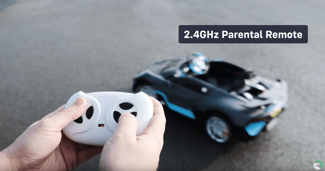 Bugatti Divo 12v Battery Electric Kids Ride On Car With Remote Control