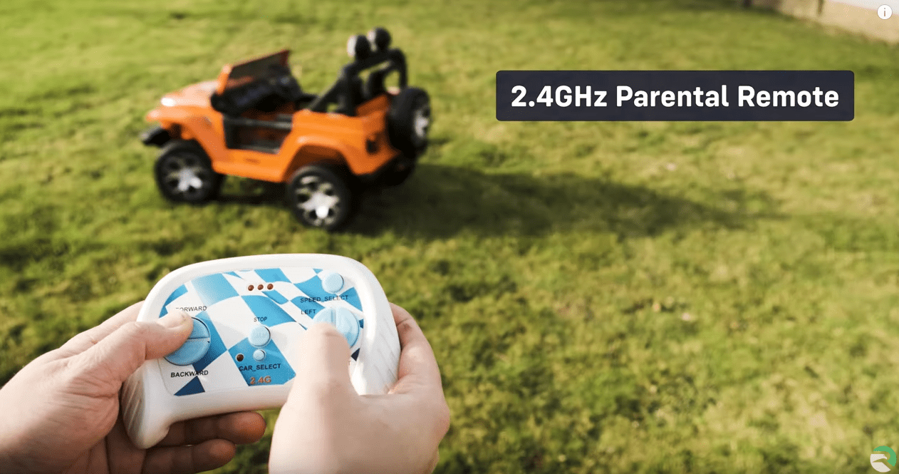 Jeep Wrangler Rubicon 12v Battery Electric Kids Ride On Car With Remote Control