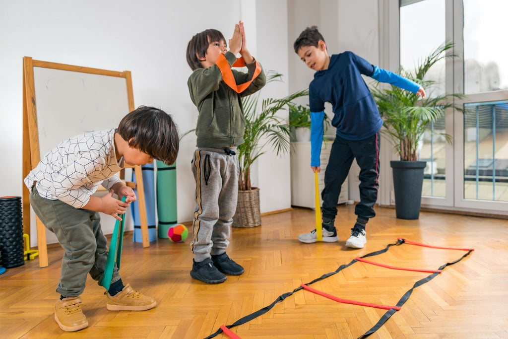6 Fun Ways To Exercise At Home With The Kids