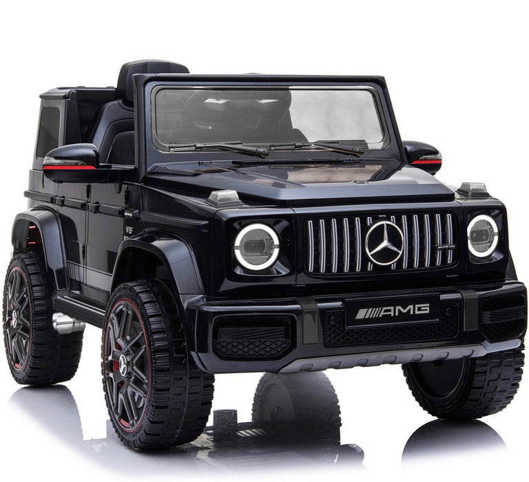 1 min mercedes g63 amg licensed ride on car in black