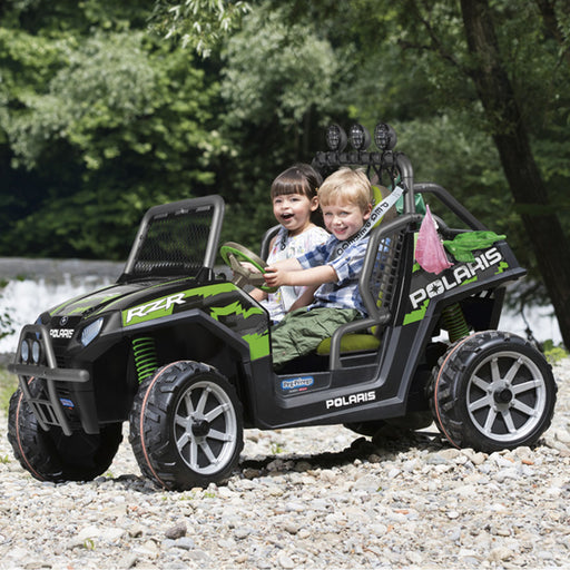 Peg Perego Polaris Ranger RZR - Green Shadow  - Black & Green