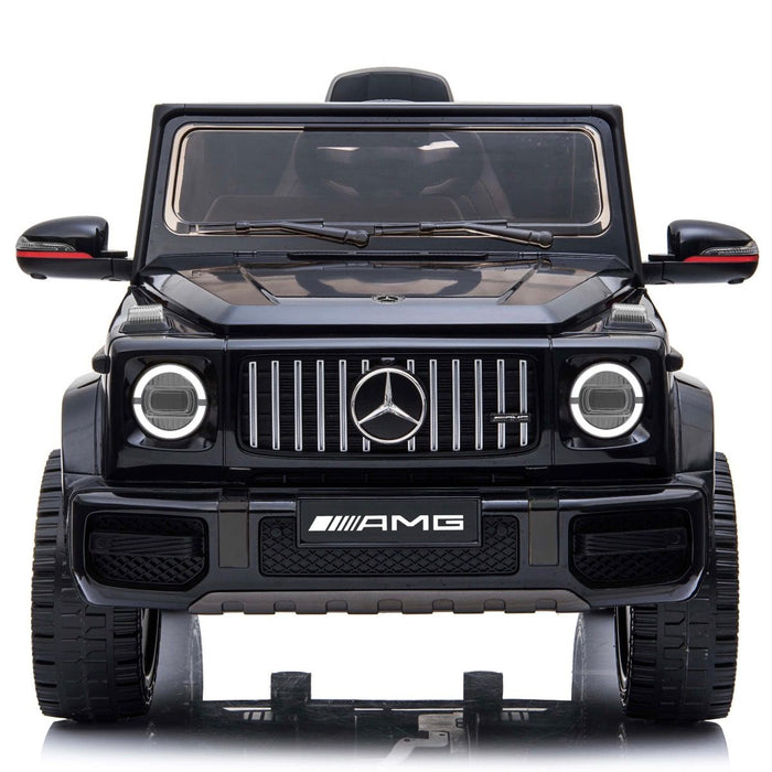 2 min mercedes g63 amg licensed ride on car in black