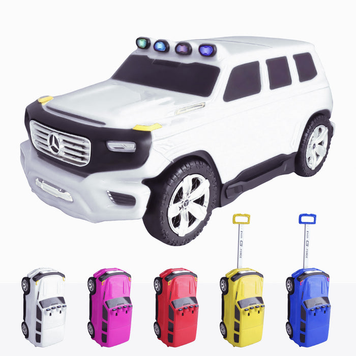 Mercedes G-Force Push Along Suitcase - Licensed
