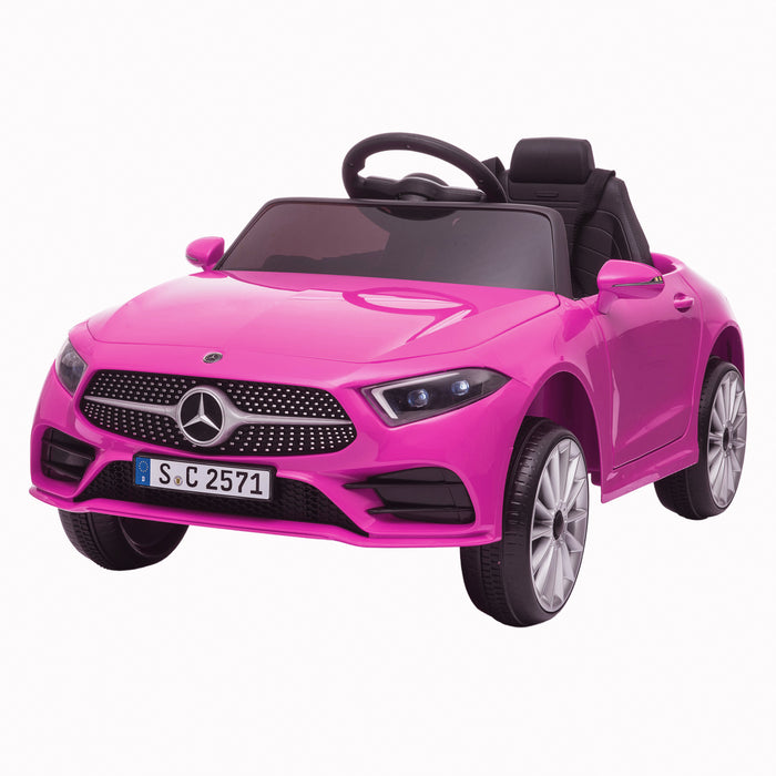 Kids-Electric-Ride-on-Mercedes-CLS-350-AMG-Electric-Ride-On-Car-with-Parental-Remote-Main-Perspective-Front-Left-Pink.jpg