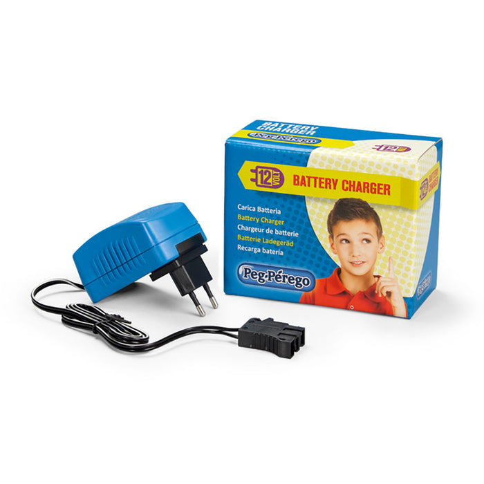 Peg Perego 12V Charger  - Blue