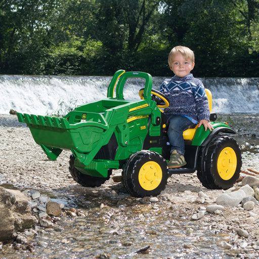 Peg Perego John Deere Ground Loader  - Green & Yellow