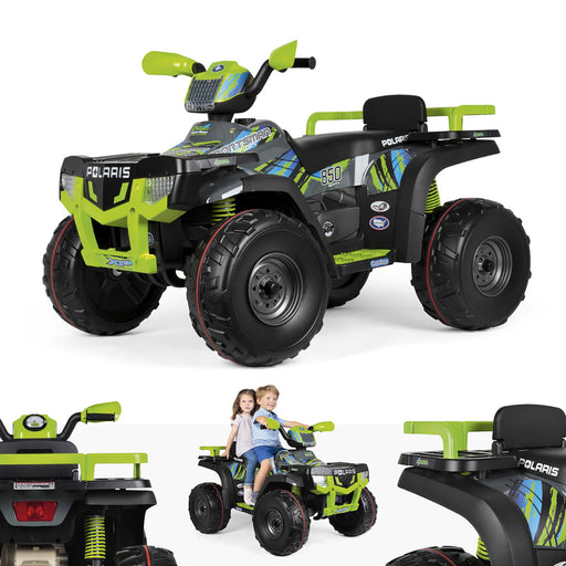 Peg Perego Polaris Sportsman 850 - Lime  - Green