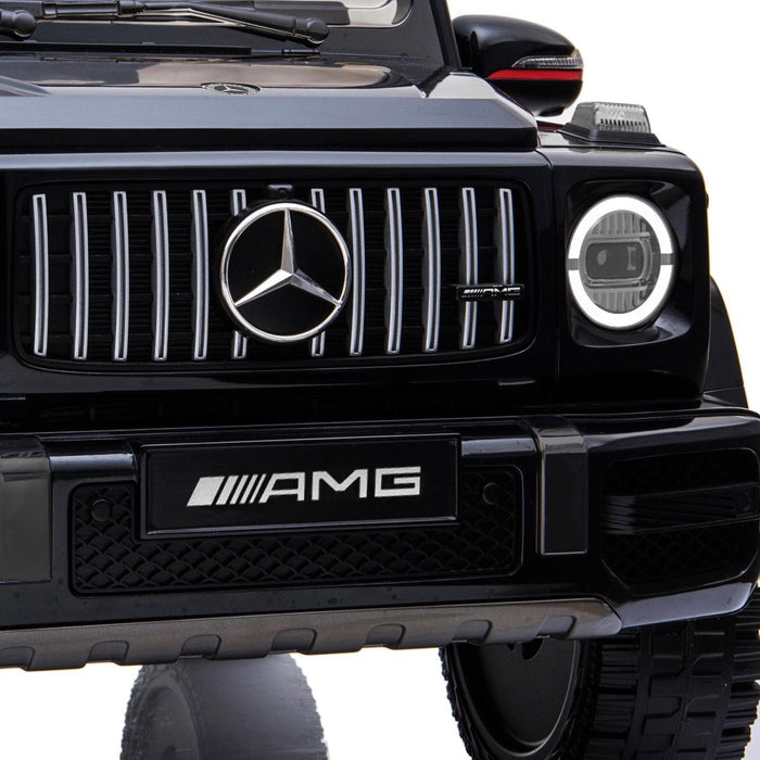 4 min mercedes g63 amg licensed ride on car in black