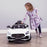 Mercedes Benz Licensed AMG GT R 12V In White - Pre-Assembled