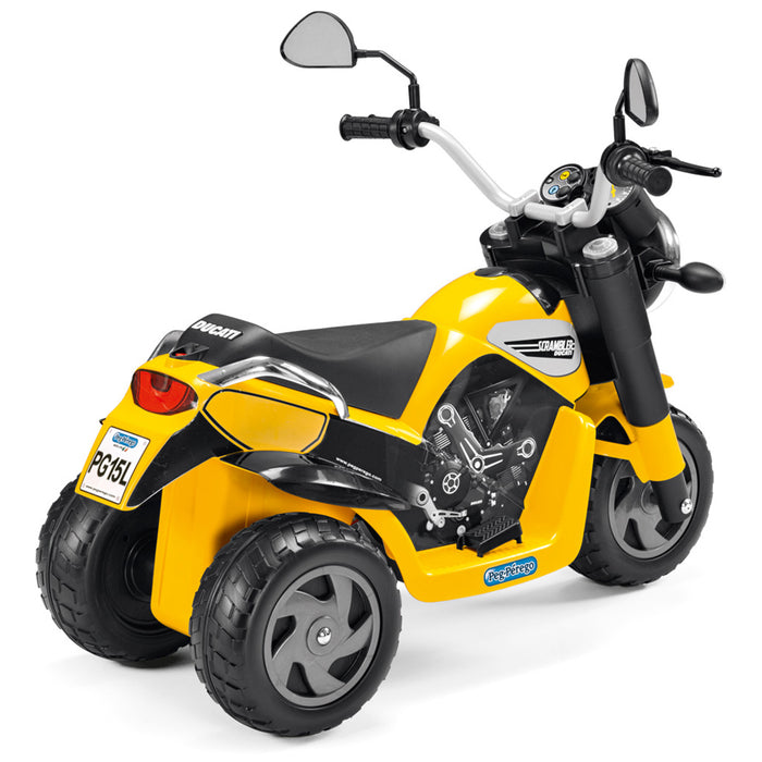 Peg Perego Ducati Scrambler  - Black & Yellow