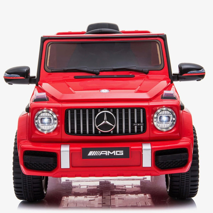 602 0232 min mercedes g63 amg licensed ride on car in red