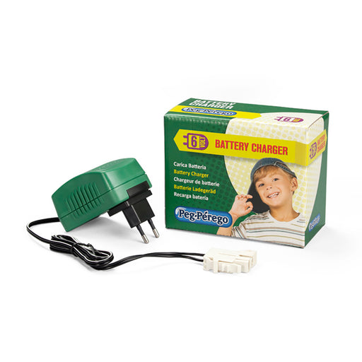 Peg Perego 6V Charger  - Green