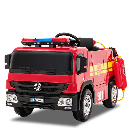 12v Kids Ride On Fire Engine front