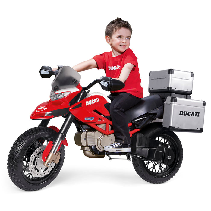 Peg Perego Ducati Enduro  - Red