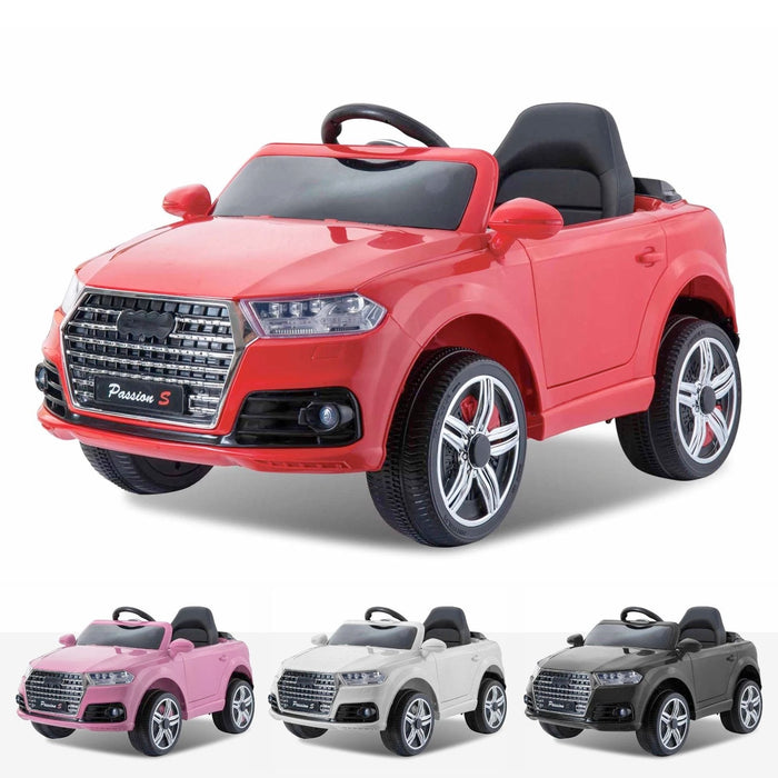 audi q7 style 12v battery electric ride on car with remote red style ride on car in red