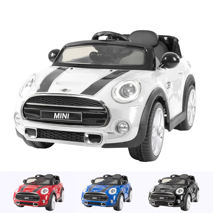 Mini Cooper S Licensed Battery Electric Kids Ride On Car