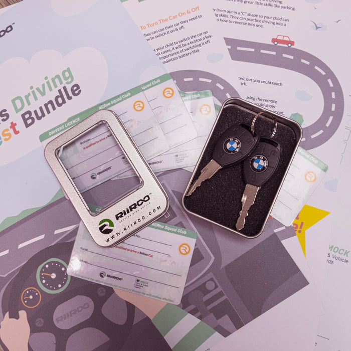 bmw key driving test certificate bundle