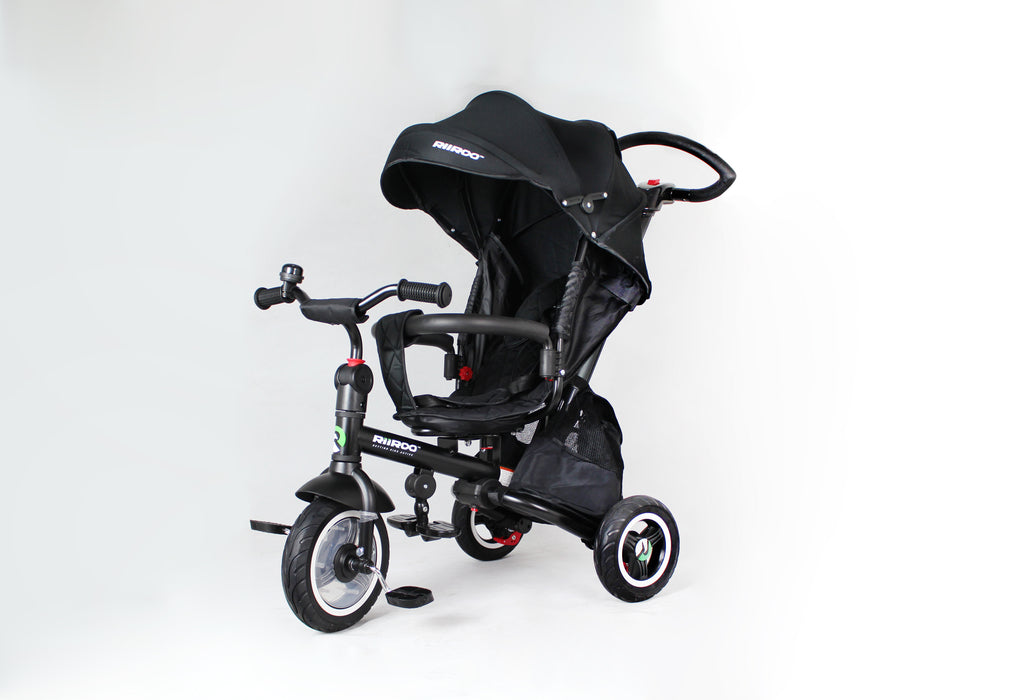 img 2068 riiroo kids tricycle 4 in 1 baby trike with push handle