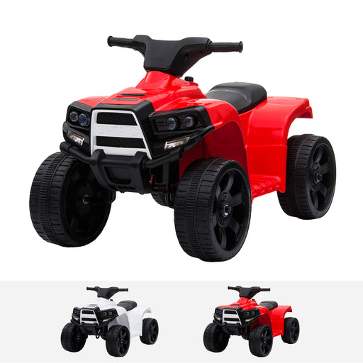 RiiRoo Renegade Rider 6V Electric Quad Motorbike In Red