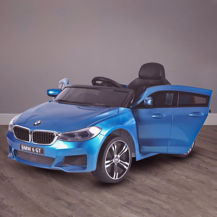 kids 12v electric bmw 6 series gt x drive 2019 battery operated kids ride on car with parental remote control hero blue m sport licensed 2wd black