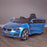 kids 12v electric bmw 6 series gt x drive 2019 battery operated kids ride on car with parental remote control hero blue m sport licensed 2wd painted blue