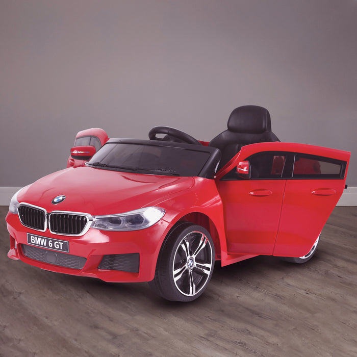 kids 12v electric bmw 6 series gt x drive 2019 battery operated kids ride on car with parental remote control hero red m sport licensed