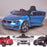 kids 12v electric bmw 6 series gt x drive 2019 battery operated kids ride on car with parental remote control main 2 blue m sport licensed 2wd painted blue