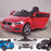 kids 12v electric bmw 6 series gt x drive 2019 battery operated kids ride on car with parental remote control main 2 red m sport licensed 2wd black