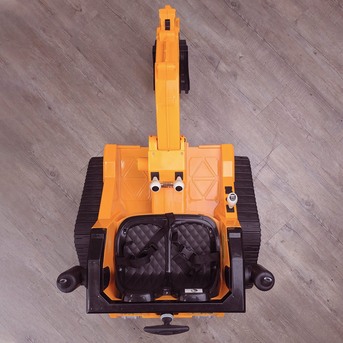 kids 12v electric battery operated digger with parental remote control fully electric controlled digger top 1 6v