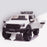 kids 12v electric ford ranger raptor f150 battery operated ride on car with parental remote control front angle doors open white wildtrak 2wd white